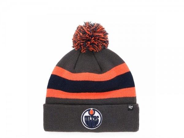 47 Brand Edmonton Oilers Breakaway Cuff Mütze