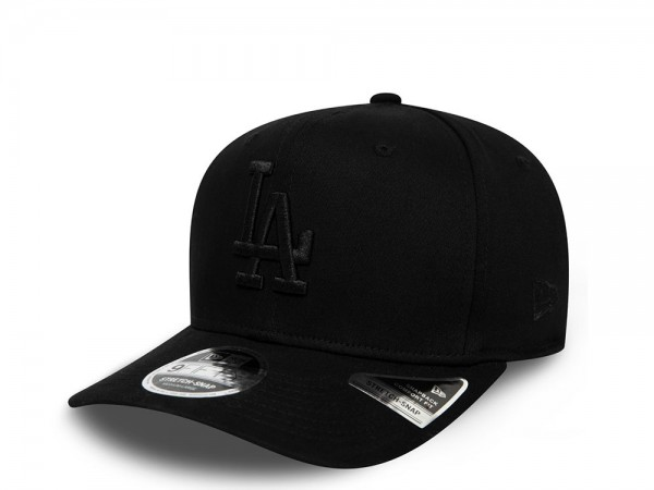 New Era Los Angeles Dodgers Tonal Black 9Fifty Snapback Cap