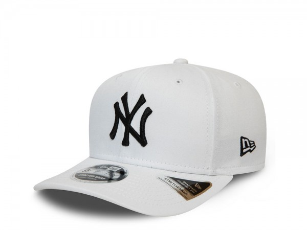 New Era New York Yankees White 9Fifty Stretch Snapback Cap