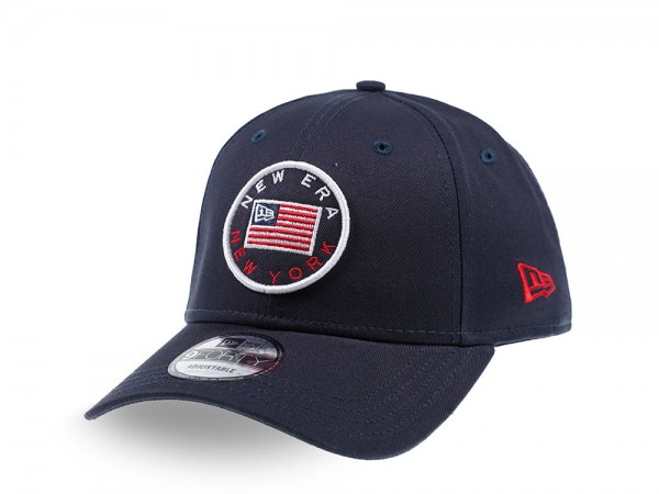 New Era Heritage Badge Navy 9Forty Strapback Cap