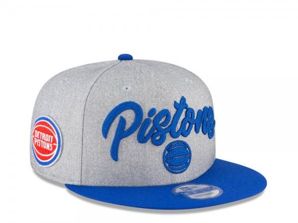New Era Detroit Pistons NBA Draft 20 9Fifty Snapback Cap