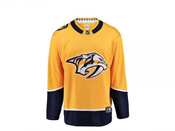 Nashville Predators Trikot Home - Fanatics Breakaway NHL Jersey