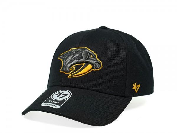 47Brand Nashville Predators Color Detail MVP Snapback Cap