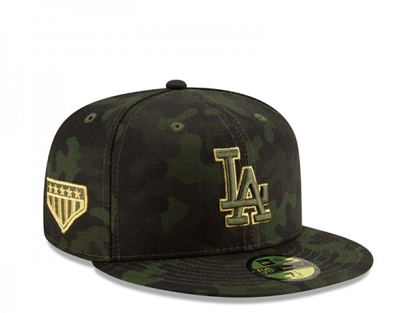 New Era Los Angeles Dodgers Armed Forces Day On Field Fitted 59Fifty Cap