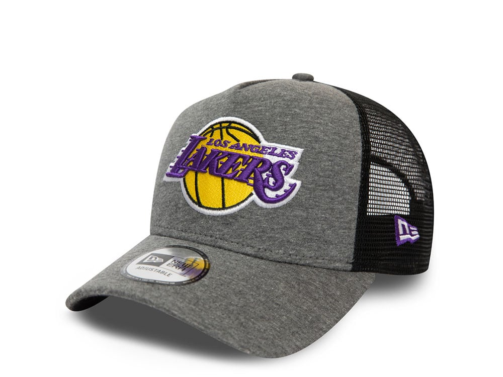 New Era Los Angeles Lakers Jersey Essential A Frame Trucker Cap