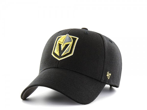 47brand Vegas Golden Knights Mvp Curved Snapback Cap