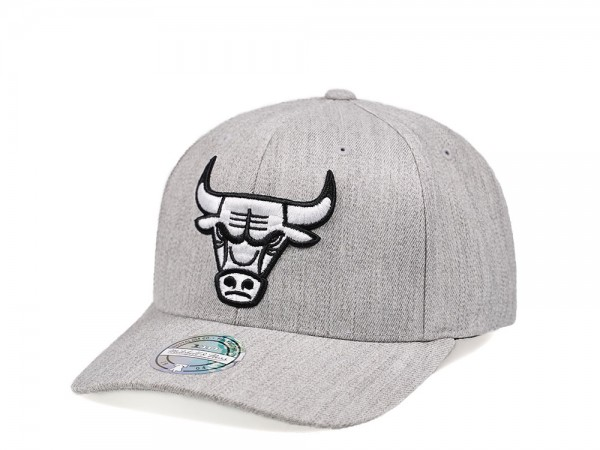 Mitchell & Ness Chicago Bulls Heather 110 Flex Snapback Cap