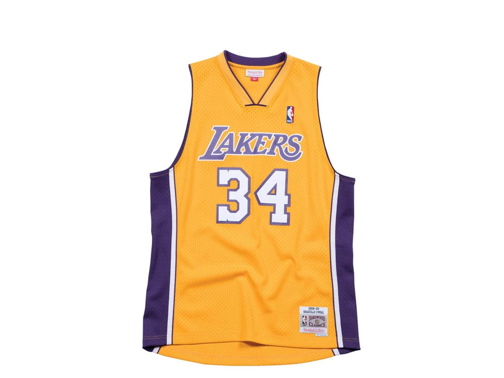 Mitchell & Ness Los Angeles Lakers - Shaquille ONeal Swingman 2.0 ...