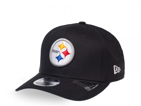 New Era Pittsburgh Steelers Black 9Fifty Stretch Snapback Cap