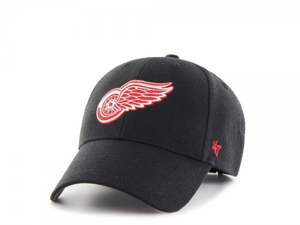 47brand Detroit Red Wings MVP Curved Strapback Cap