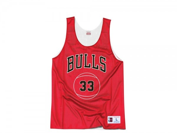 Mitchell & Ness Chicago Bulls - Scottie Pippen Reversible Mesh Tank Top Jersey