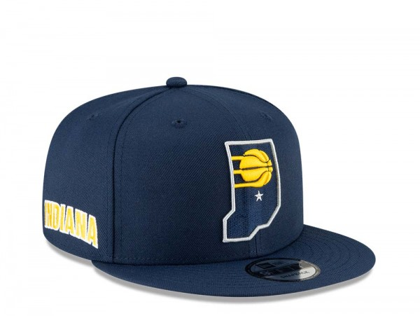 New Era Indiana Pacers City Series 20 Alternate 9Fifty Snapback Cap