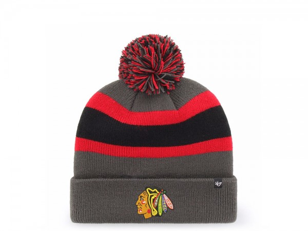 47 Brand Chicago Blackhawks Breakaway Cuff Mütze