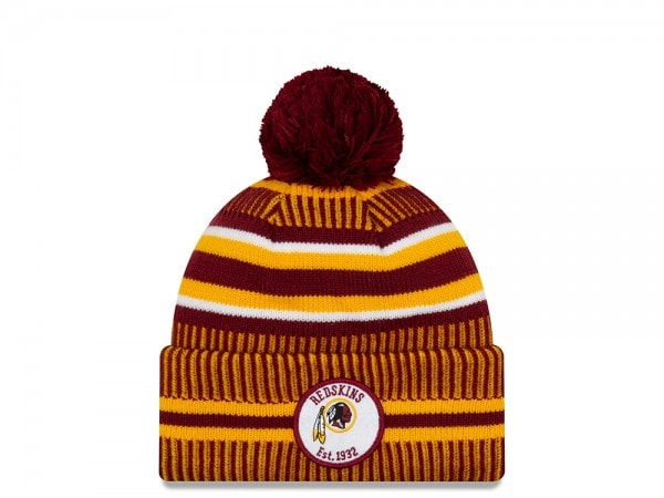 New Era Washington Redskins Sideline 2019 Home Mütze