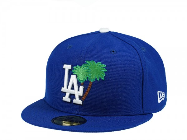 New Era Los Angeles Dodgers Palm Tree Edtion Blue 59Fifty Fitted Cap