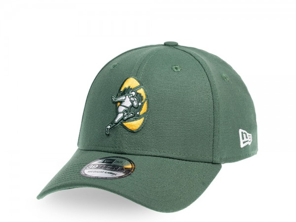 New Era Green Bay Packers Alternate Throwback 39Thirty Stretch Cap