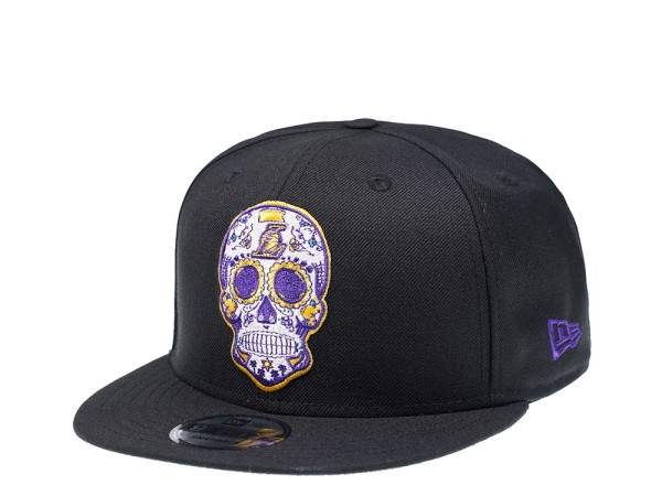 New Era Los Angeles Lakers Skull Edition 9Fifty Snapback Cap