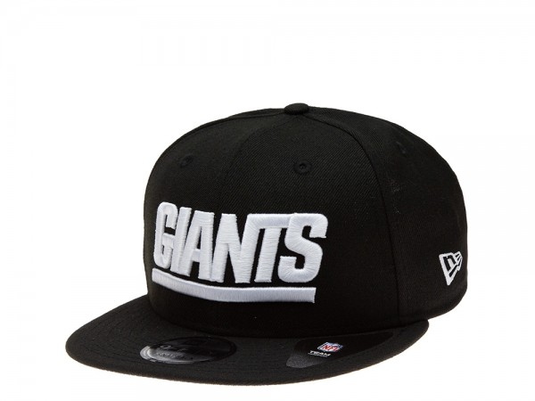 New Era New York Giants All About Black Edition 9Fifty Snapback Cap