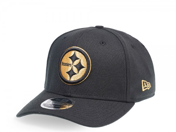 New Era Pittsburgh Steelers Black and Gold Edition 9Fifty Stretch Snapback Cap