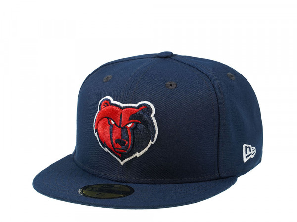 New Era Memphis Grizzlies All Blue Edition 59Fifty Fitted Cap