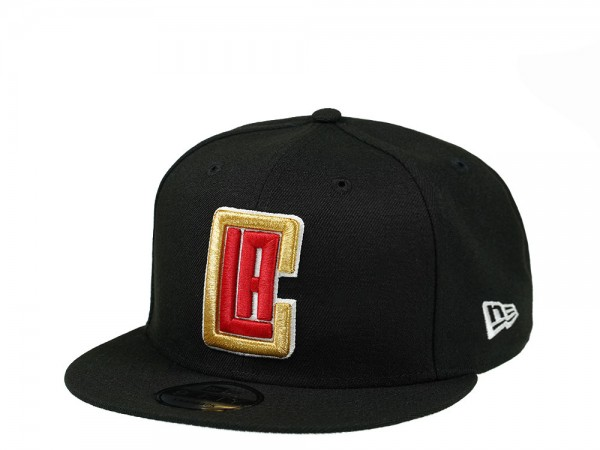 New Era Los Angeles Clippers Gold Details Edition 9Fifty Snapback Cap