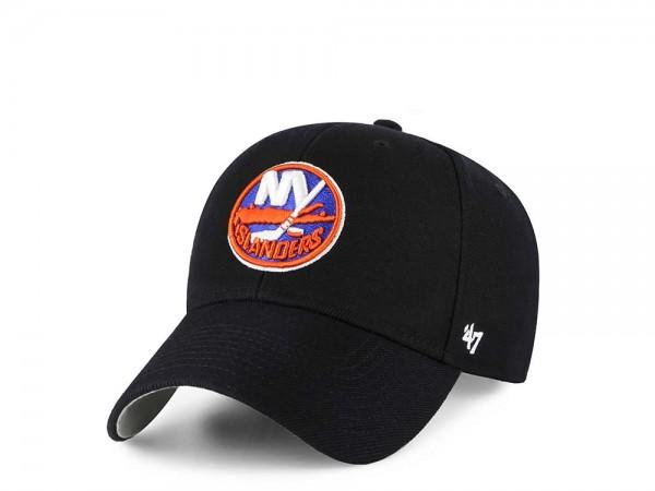 47Brand New York Islanders MVP Black Strapback Cap