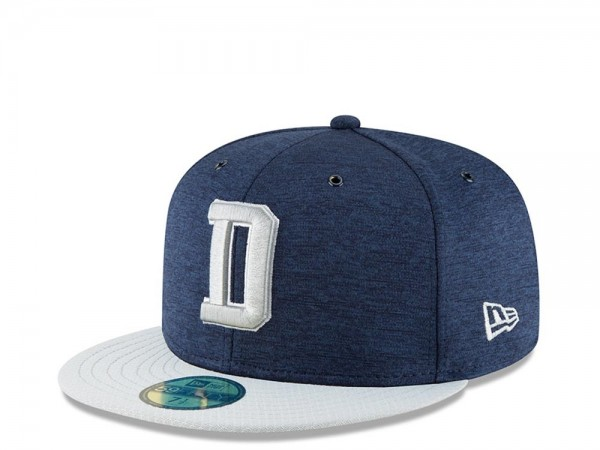 New Era Dallas Cowboys Sideline Cap 2018 Home Fitted 59fifty