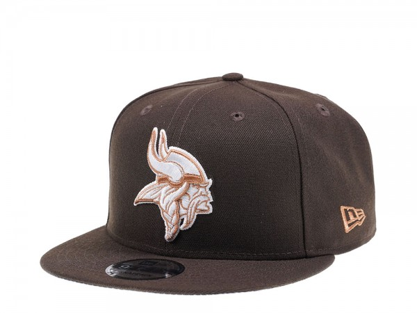 New Era Minnesota Vikings Walnut Edition 9Fifty Snapback Cap