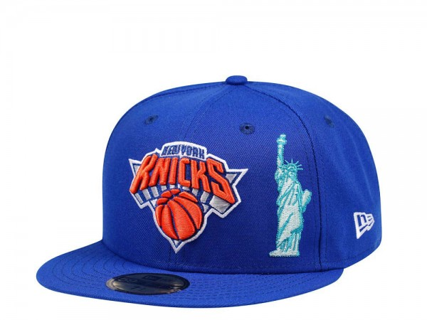 New Era New York Knicks Icons Edition 59Fifty Fitted Cap