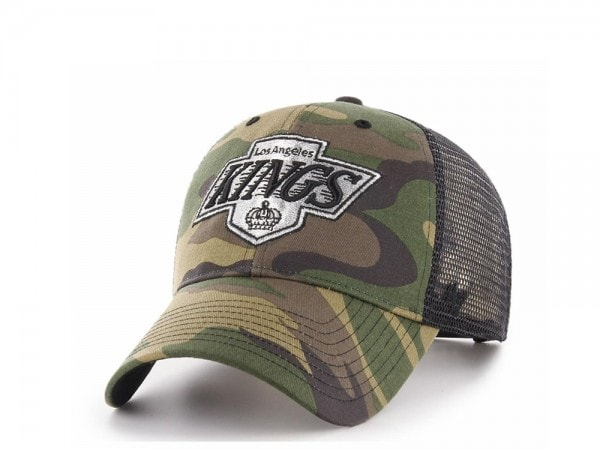 47brand Los Angeles Kings MVP Trucker camo Snapback Cap