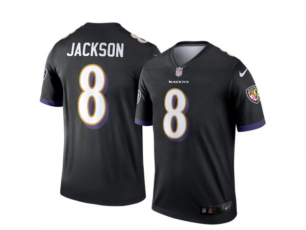 Nike Baltimore Ravens Lamar Jackson Alternate Legend NFL Jersey