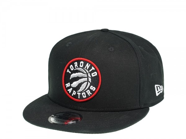 New Era Toronto Raptors All About Black Edition 9Fifty Snapback Cap